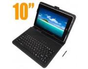 Funda 10'' para tablet con teclado