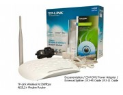Router Wireless + ADSL TP-Link 150 mbps TL-W8951ND