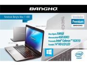 Notebook Bangho MAX i2-468 Celeron/4gb/hdd 500gb/pant 14''/HDMI/red1000/ WIN 8